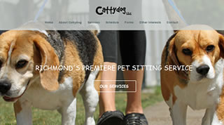 Richmond Dog Walker, Web, Mobile, WordPress Development