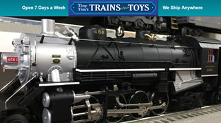 Tiny Tim's Trains and Toys